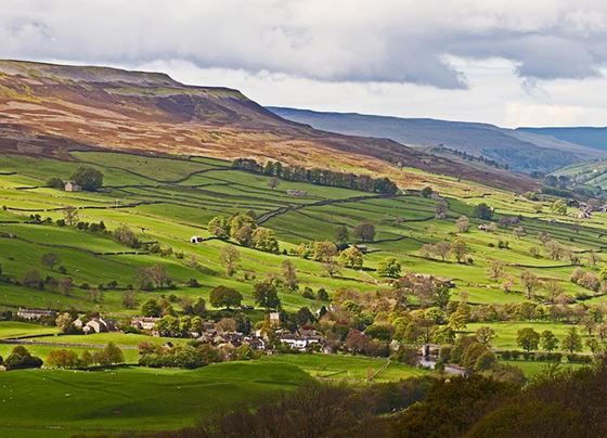 Grinton in Swaledale.