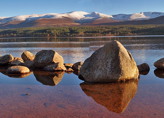 Loch Morlich and Northern Cairngorms.