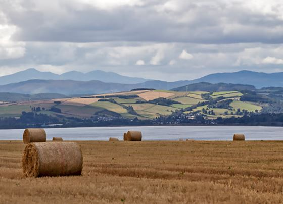 Cromarty Firth and Affric hills